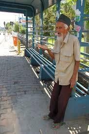 Almarhum Anwar, Veteran yang menjadi pengemis dijalanan
