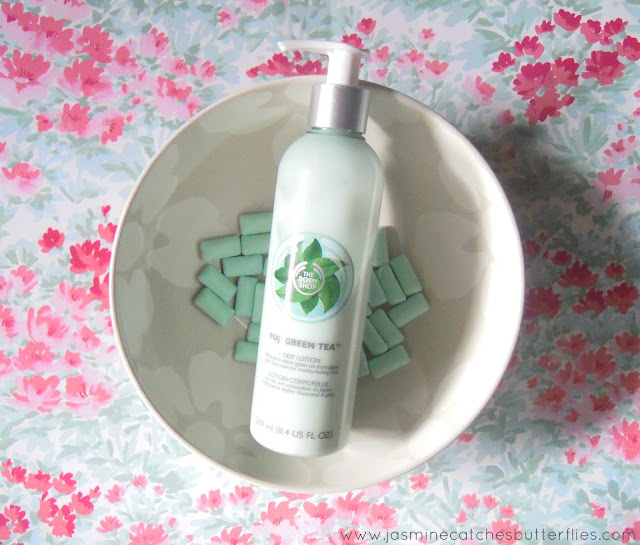 The Body Shop Fuji Green Tea Body Lotion Review