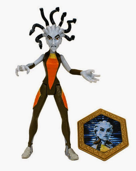 JUGUETES - Matt Hatter Chronicles  Medusa | Figura - Muñeco | Super Villanos  Producto Oficial Serie Clan | Simba | A partir de 3 años