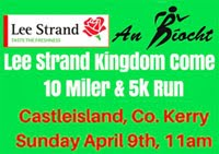 Castleisland 10 mile & 5k...Sun 9th Apr 2017