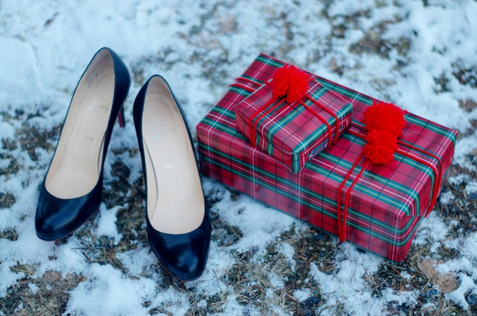 Christian Louboutin 100 mm Simple kidskin pumps Christmas