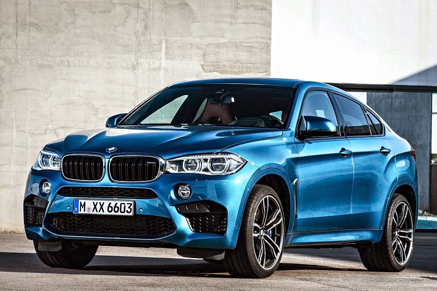BMW X6 M (2015) Front Side