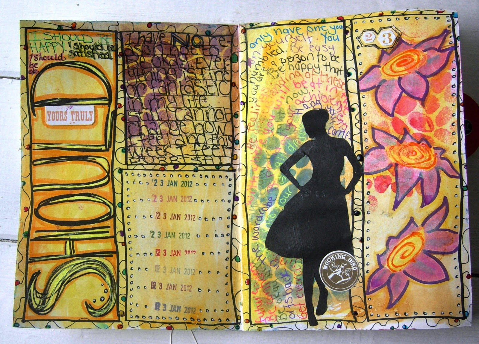 Jennibellie Studio: Doodle Journal Page & First Mini Book Tutorial