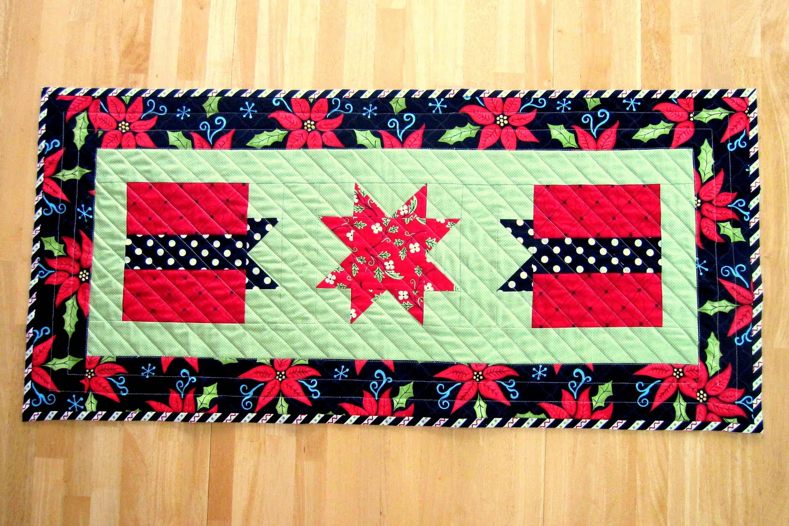 pattern table runner christmas runner quilted first a is table  Gifts Christmas here show