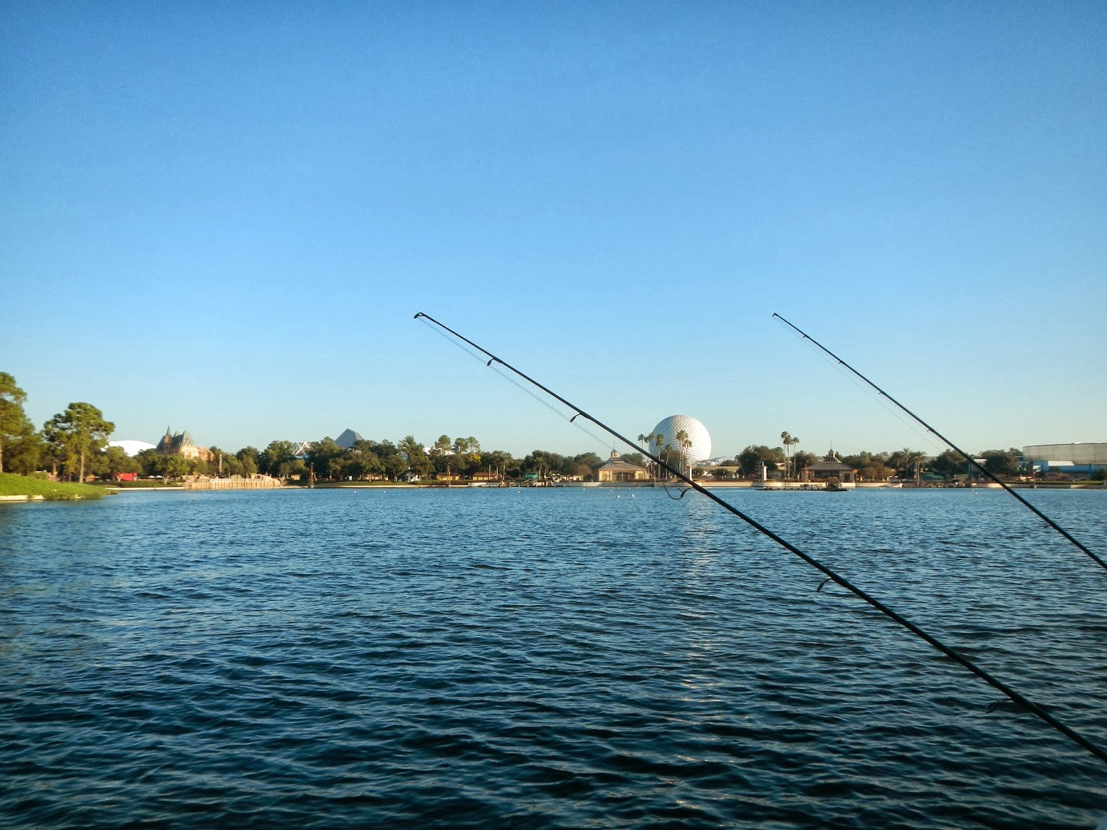 Northwest family vacations something different fishing for Fishing at disney world