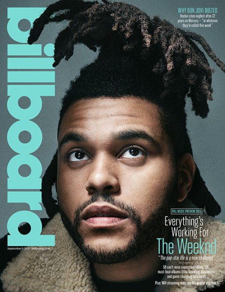 The Weeknd Covers 'Billboard' Magazine