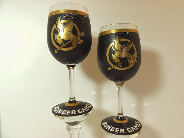 hunger games wine glass
