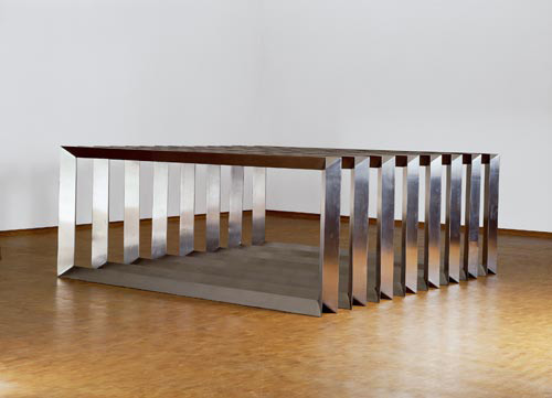 Contemporary ideas in sculpture minimalist artists and for Minimal art judd