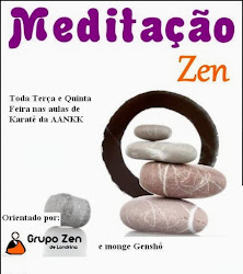 Venha treinar Karatê e Meditação Zazen na AANKK