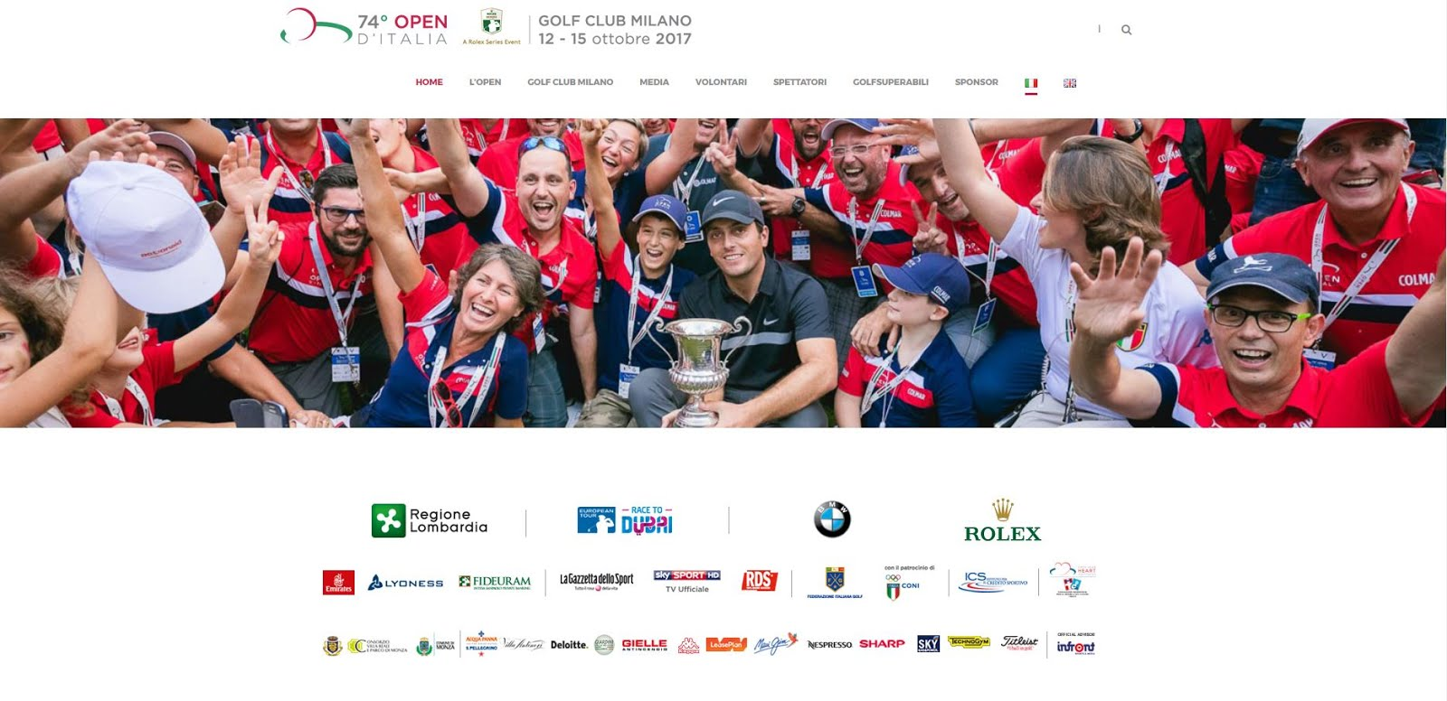 74° Open d'Italia - Golf Club Milano, Monza