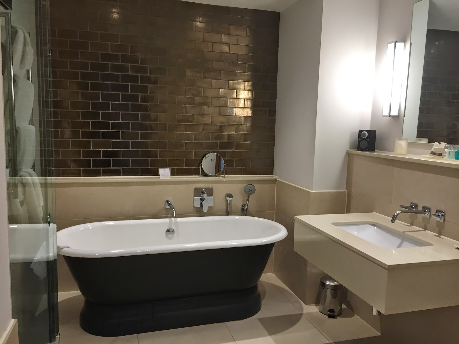 Bathroom, Rudding Park Hotel, Harrogate