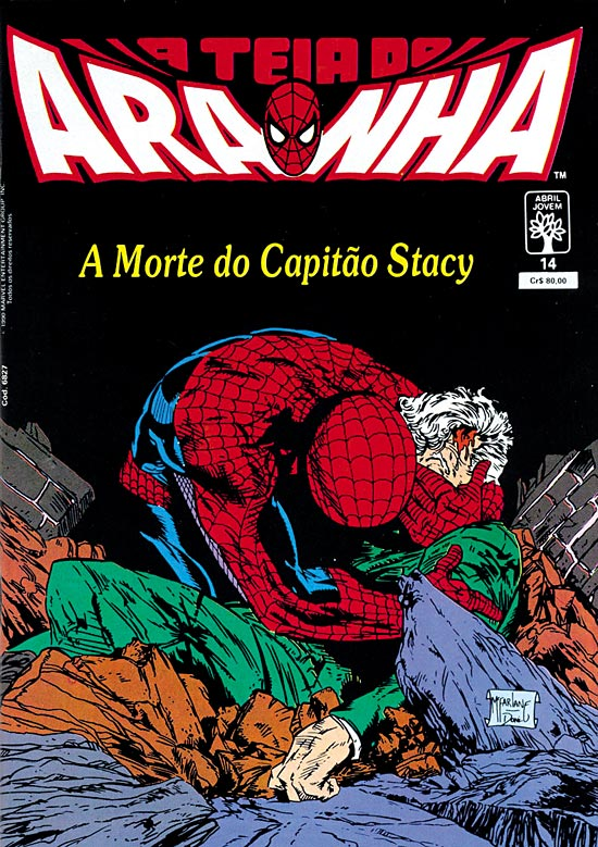 Teia do Aranha 14 - A morte do Capitão Stacy