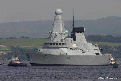 kapal perang tercanggih Type 45 Class