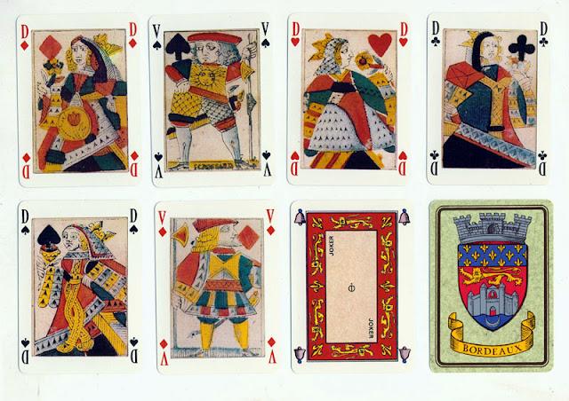 игральные карты 1658 года Франция, Гинея