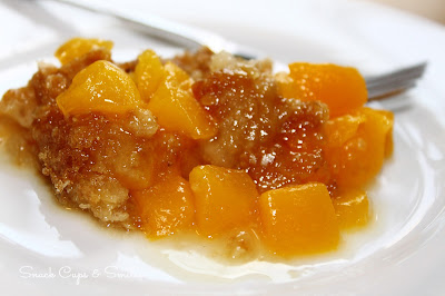 Super Easy Peach Crisp