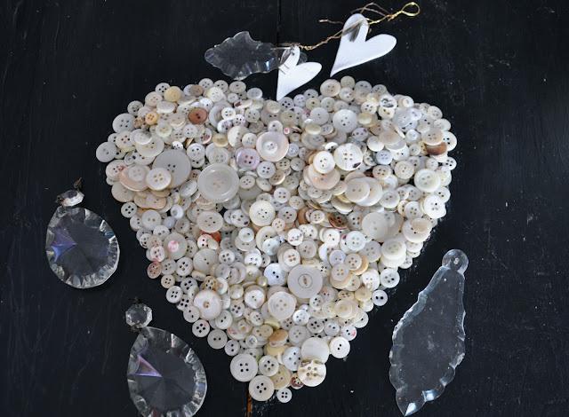 coeur,boutons de nacre pampilles  carolin swift