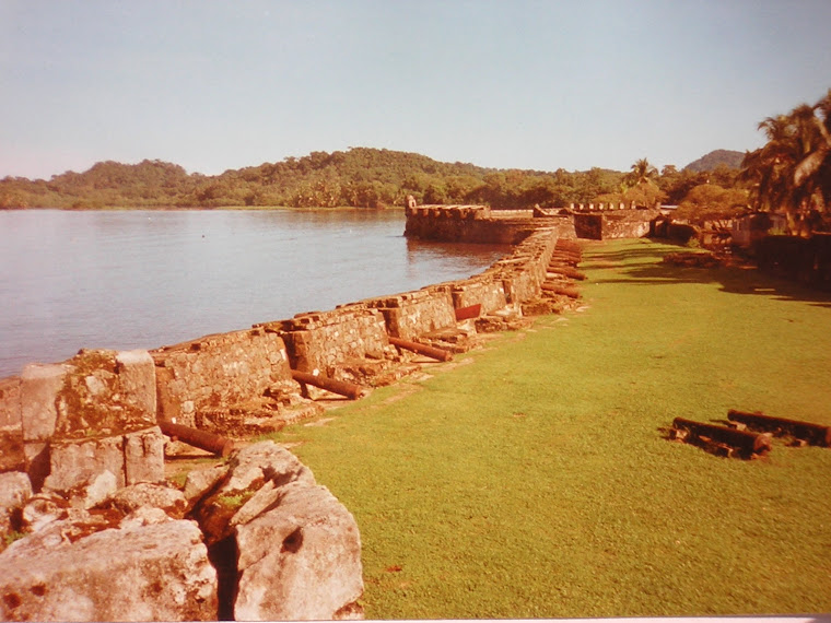 One of the forts in Portobelo