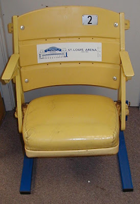St. Louis Arena seat - seats