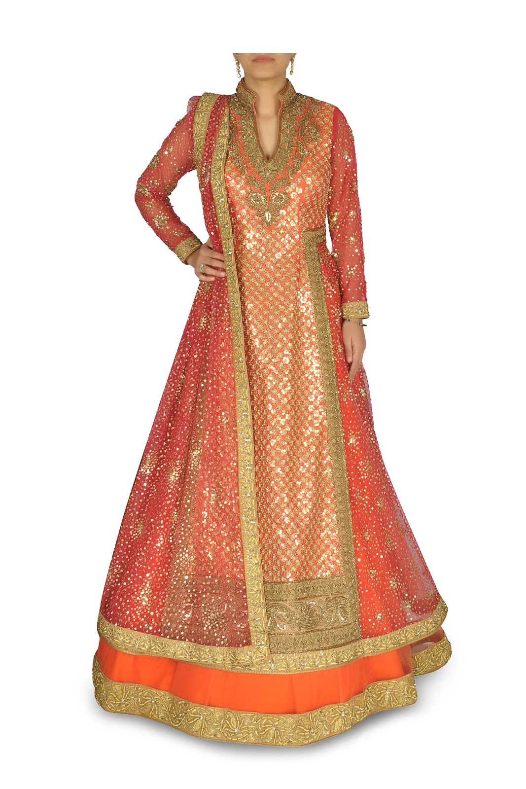 Elegant Indian Clothing Wedding Outfits