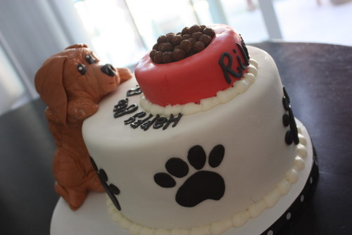 Christies Cakes Puppy Birthday Cake