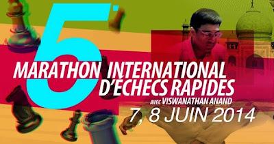 5e Marathon d' échecs à Rabat