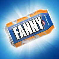 Irn Bru replace branding with name 'Fanny' on can