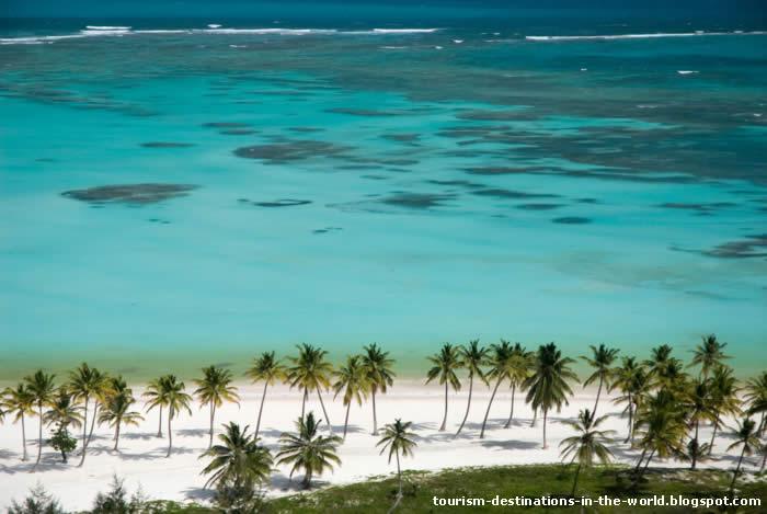 Vista aérea da Praia de Punta Cana