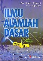 toko buku rahma: buku ILMU ALAMIAH DASAR Edisi Baru, pengarang abu ahmadi, penerbit rineka cipta
