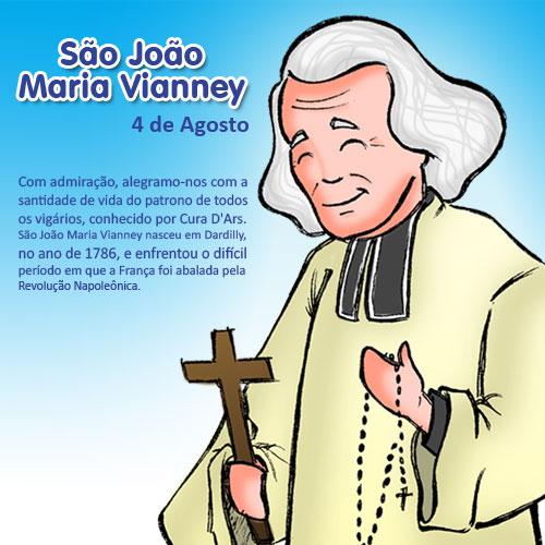 São João Maria Vianney desenho