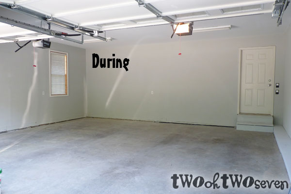 lake living: A Finished Garage Equals a Happy Wife on how to put your garage in order, how to finish drywall, how to finish basement, how to organize bins in garage, how to paint concrete floors, how to finish an attic, how to organize your garage, how to organize garage space,