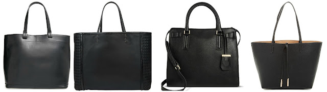 One of these totes is from Bottega Veneta for $2,600 and the other three are under $50. Can you guess which one is the designer tote? Click the links below to see if you are correct!