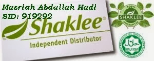 I'm your Shaklee Independent Distributor.