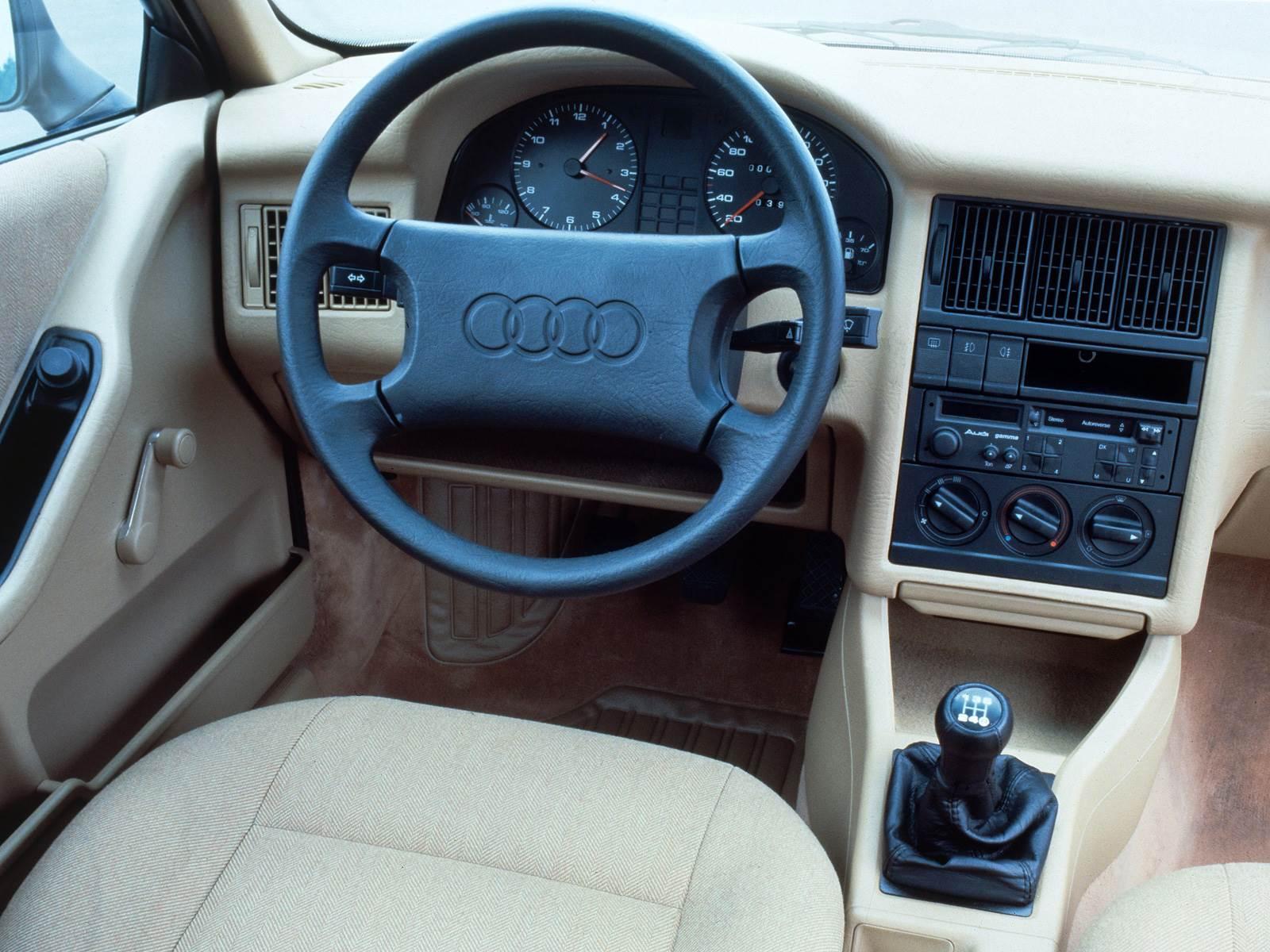 Audi 80 pioneiro na classe m dia o precursor do a4 for Audi 80 interieur