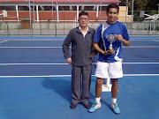 El jugador Jaime Sanhueza resultó Campeón del Torneo de Tenis 2013 .
