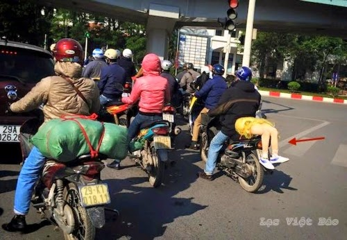 Ảnh vui giao thông Việt Nam