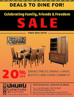 20% Off Dining Tables, Dining Chairs, Buffets and China Cabinets!