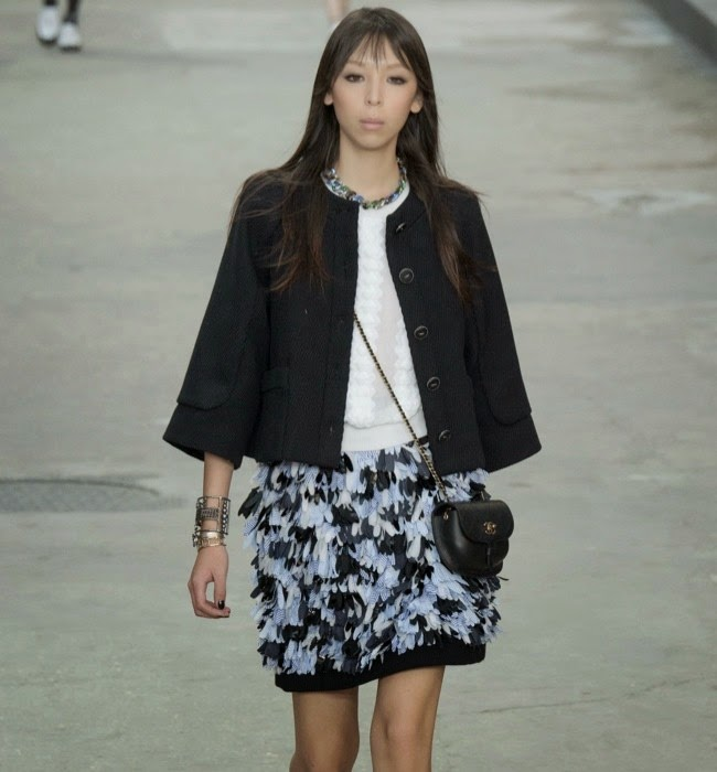 Chanel Spring/Summer 2015 Paris Fashion Week Show