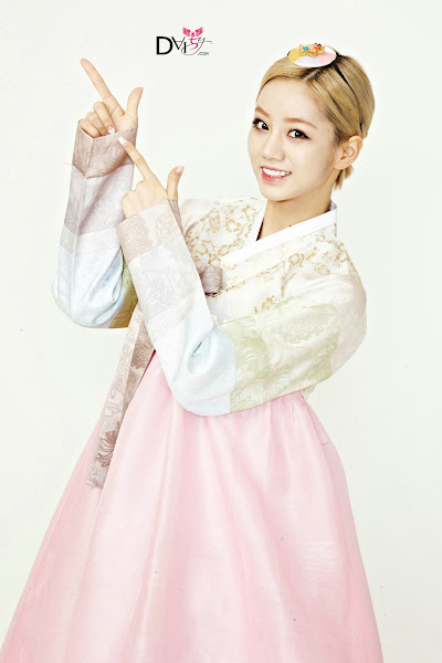 Girl's Day Hyeri Lunar 2014 Hanbok