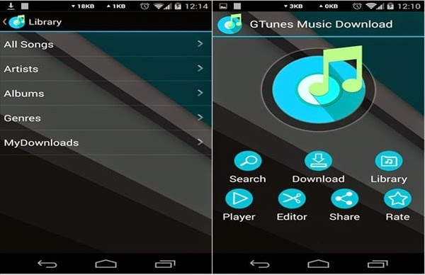 GTunes Music Free Download MP3 Android