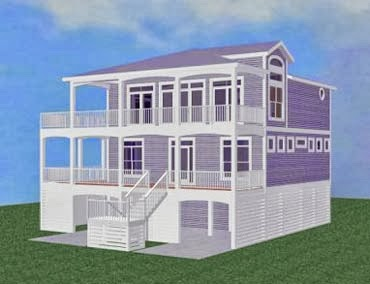 Stilt house plans for Stilt home plans