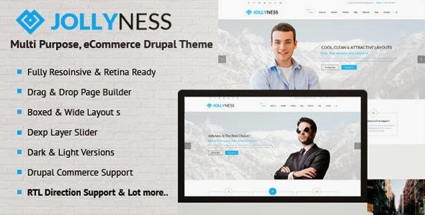 Jollyness eCommerce Drupal Theme