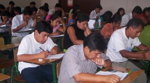 Resultados Contrato Docente 2013 (Examen Nacional Domingo 20 Enero