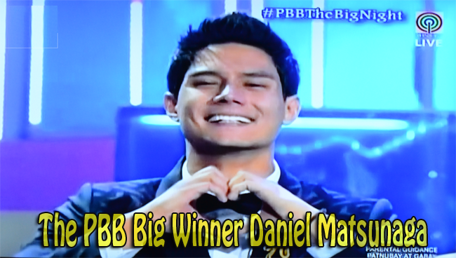 PBB Grand Winner Daniel Matsunaga: The Big Winner of Pinoy Big Brother All In