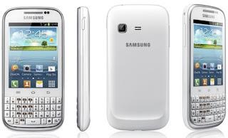 Samsung Galaxy Chat B5330, HP Android QWERTY harga dibawah 1.5 juta