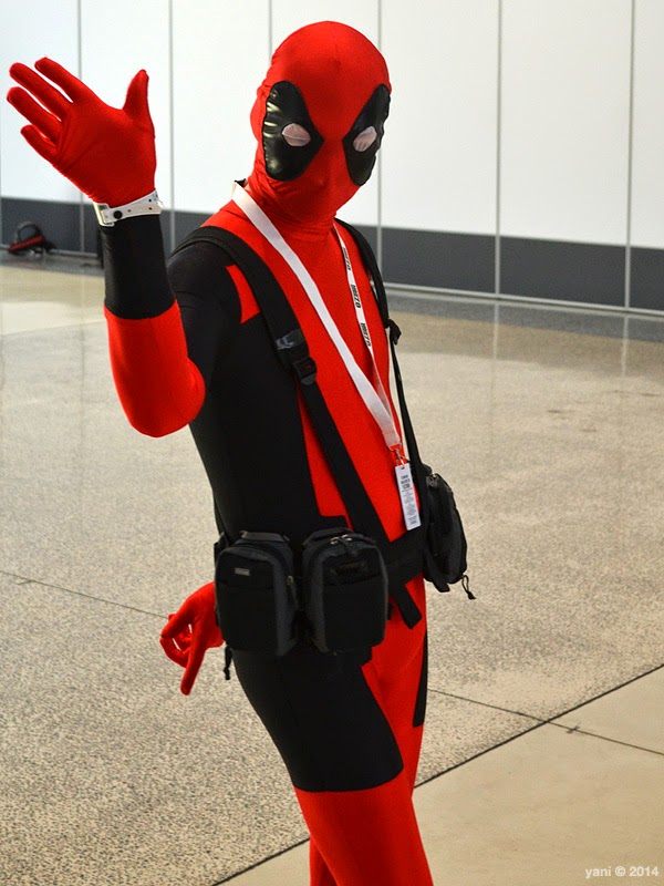 oz comic-con adelaide - sassy deadpool