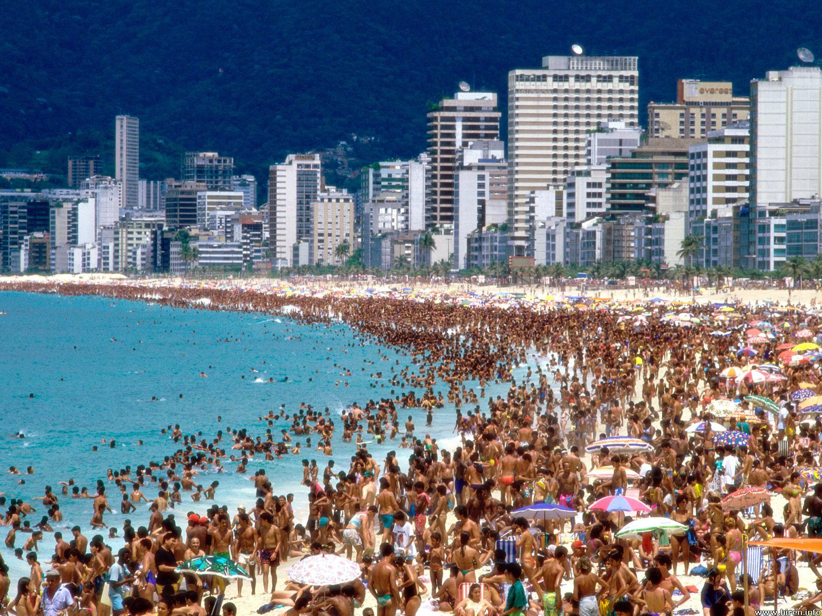 World Most Popular Places: Rio de Janeiro Beaches Brazil Wallpapers