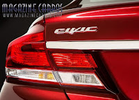 Logotipo do Novo Honda civic 2013 Brasil
