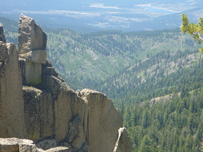 View from Slab Cliffs ridge into Mt. Rose Wilderness