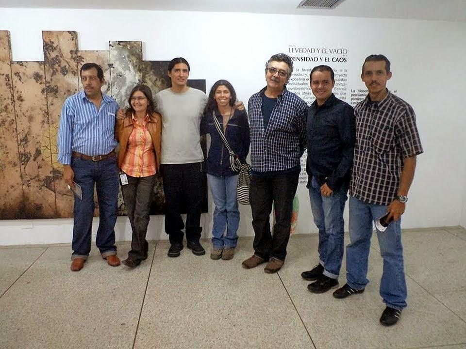 Artistas Tachirenses en la Sala Creadores Visuales del IARTES, Caracas, 2013