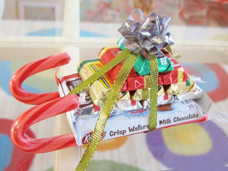 candy sleigh!
